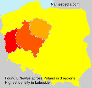 Surname Newes in Poland
