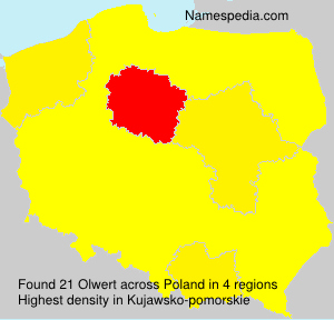 Surname Olwert in Poland