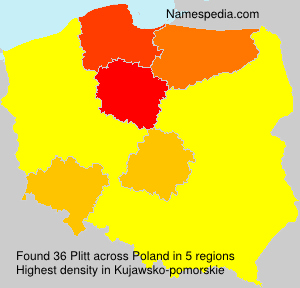 Surname Plitt in Poland
