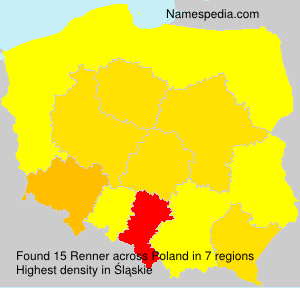 Surname Renner in Poland