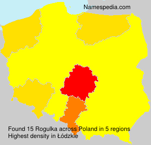 Surname Rogulka in Poland