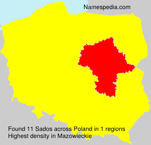 Surname Sados in Poland