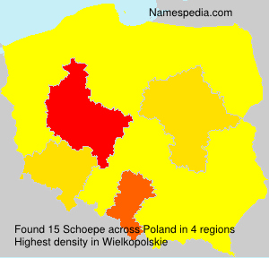 Surname Schoepe in Poland