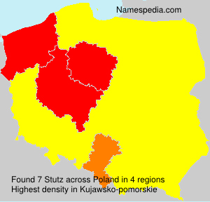 Surname Stutz in Poland