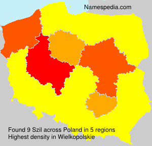 Surname Szil in Poland