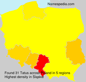 Surname Tatus in Poland