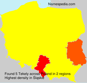 Surname Tekely in Poland