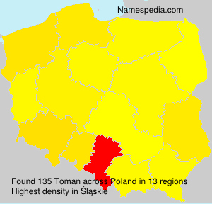 Surname Toman in Poland
