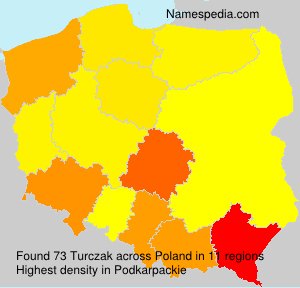 Surname Turczak in Poland