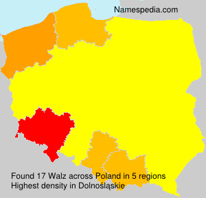 Surname Walz in Poland