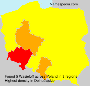 Surname Wasieloff in Poland