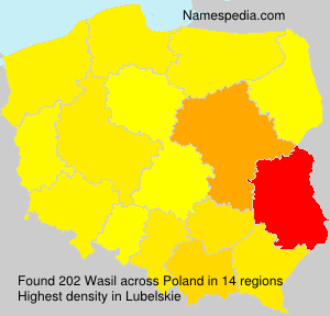 Surname Wasil in Poland