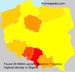 Surname Willim in Poland