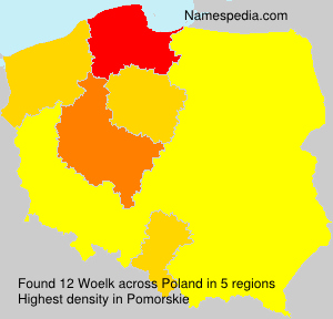 Surname Woelk in Poland
