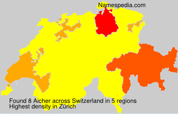 Surname Aicher in Switzerland