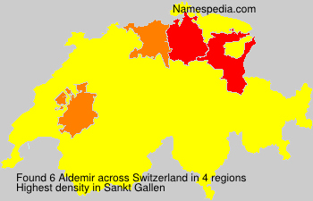 Surname Aldemir in Switzerland