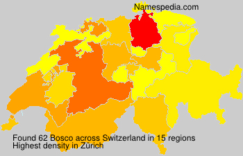 Surname Bosco in Switzerland