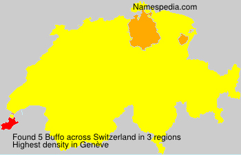 Surname Buffo in Switzerland