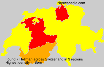 Surname Hellman in Switzerland