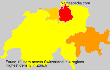 Surname Hero in Switzerland