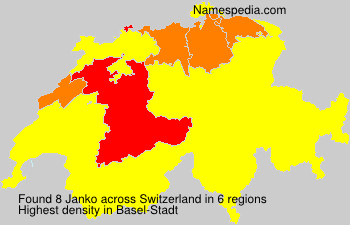 Surname Janko in Switzerland