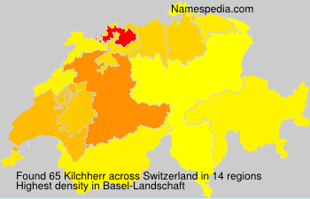 Surname Kilchherr in Switzerland