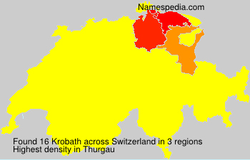 Surname Krobath in Switzerland