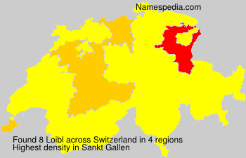 Surname Loibl in Switzerland
