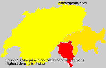 Surname Margni in Switzerland
