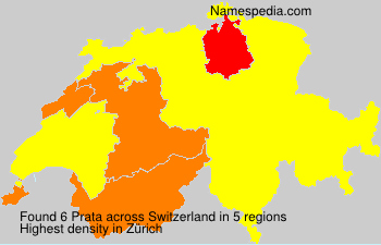 Surname Prata in Switzerland