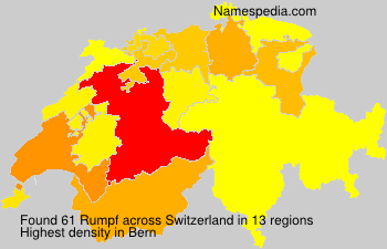 Surname Rumpf in Switzerland