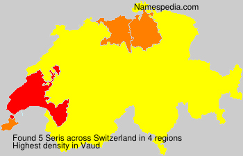 Surname Seris in Switzerland