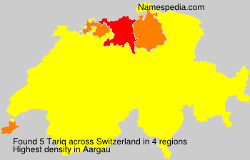 Surname Tariq in Switzerland