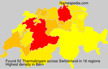 Surname Tharmalingam in Switzerland