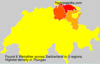Surname Weirather in Switzerland