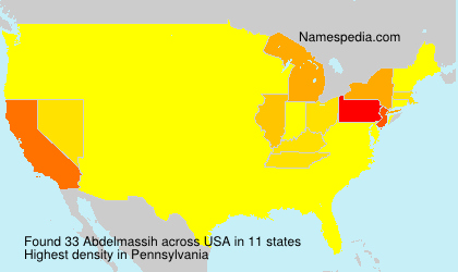 Surname Abdelmassih in USA