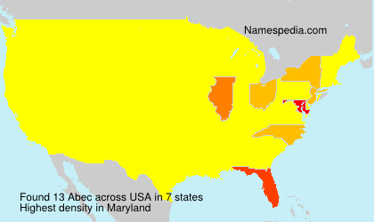Surname Abec in USA