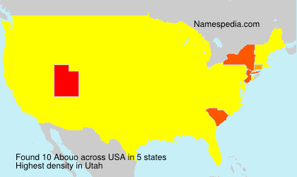 Surname Abouo in USA