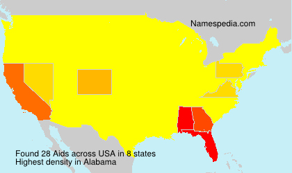 Surname Aids in USA