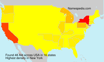 Surname Ald in USA