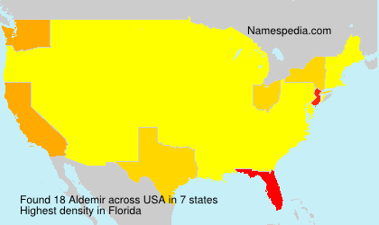 Surname Aldemir in USA