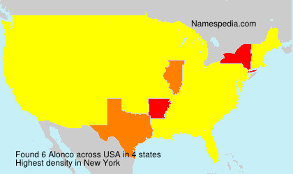 Surname Alonco in USA