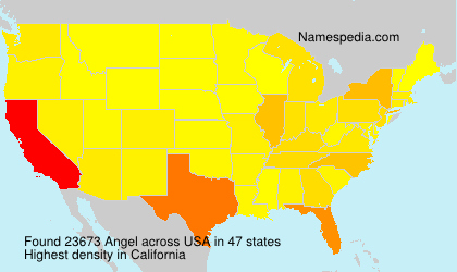 Surname Angel in USA