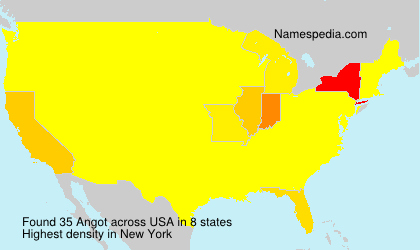 Surname Angot in USA