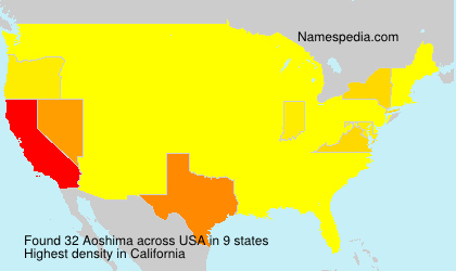 Surname Aoshima in USA