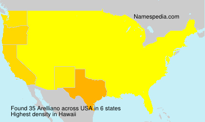 Surname Arelliano in USA