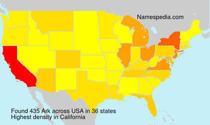 Surname Ark in USA