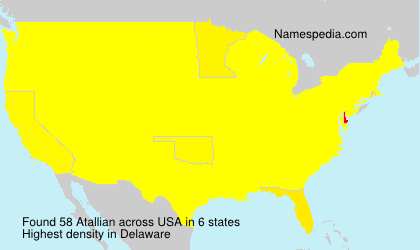 Surname Atallian in USA
