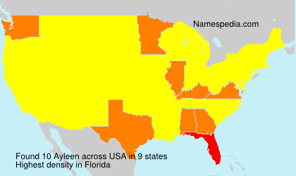Surname Ayleen in USA