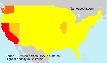 Surname Ayuzo in USA